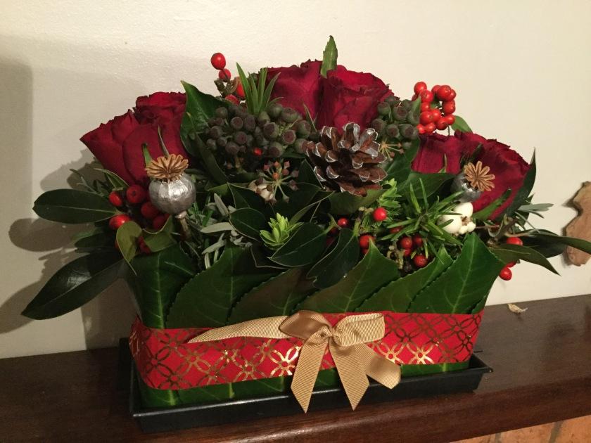 Christmas flowers: £15-£40